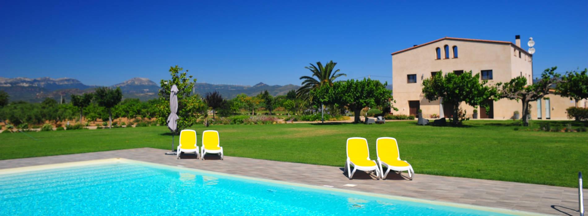 Mas Montbrio Belvedere piscina jardín imagen-1