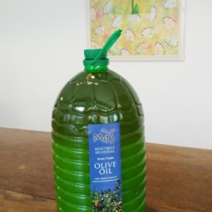 Aceite De Oliva Virgen Extra 5L Bottle (incl. Adoption)